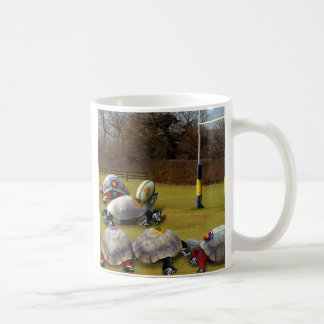 Turtle Rugby Basic White Mug