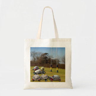 Turtle Rugby Budget Tote Bag