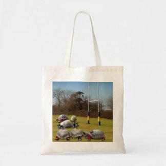 Turtle Rugby Tote Bag