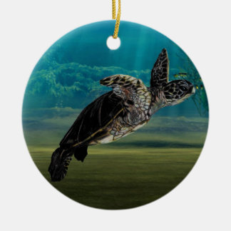 Turtle Sea ornament