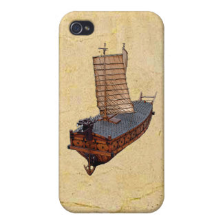 Turtle Ship iPhone 4/4S Hard Shell Case Case For The iPhone 4