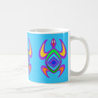 Turtle Symmetry Color Mugs