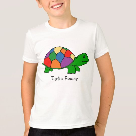 Turtle Time - Kids American Apparel T-Shirt
