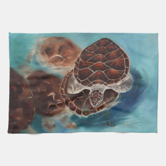 Turtle Time Tea Towel