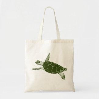 Turtle Tote Canvas Bag
