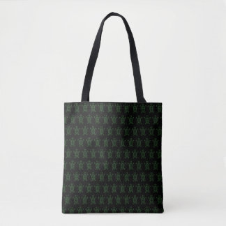 Turtle Tracer Tote Bag