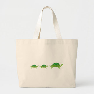 Turtle, Turtle, Turtle Large Tote Bag