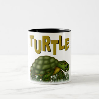 Turtle Two-Tone Coffee Mug
