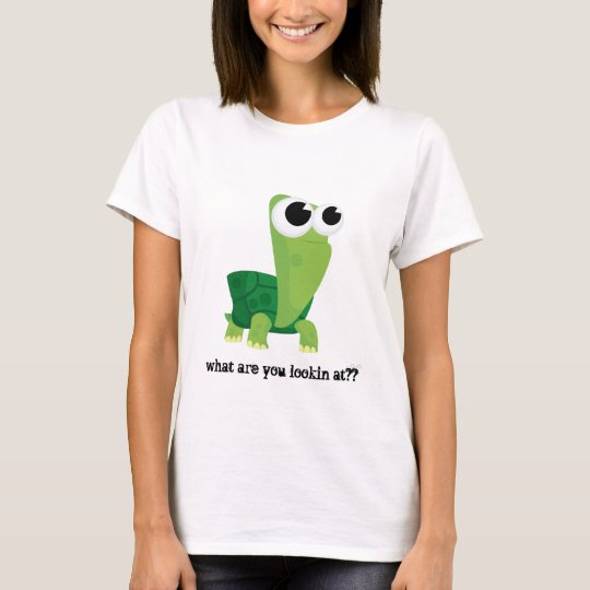 Turtle... What are you looking at?? T-Shirt