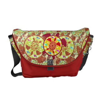 Turtle Within Turtle Messenger Bag