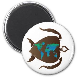 Turtle-world Magnet