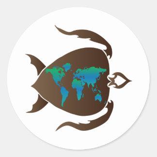 Turtle-world Stickers