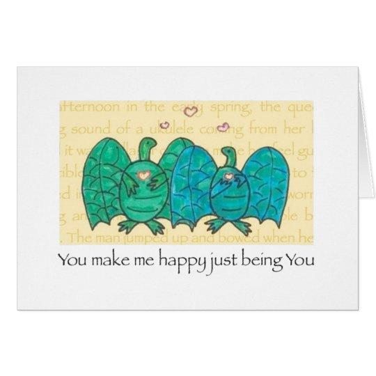 Turtlebats In Love card