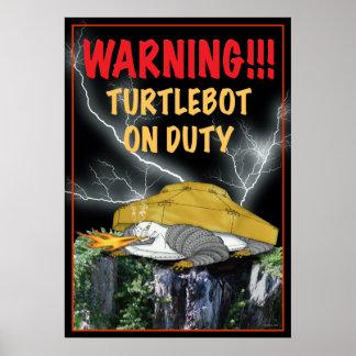 Turtlebot on Duty Print