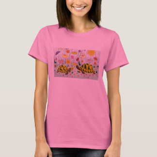 Turtles and Flowers T-Shirt