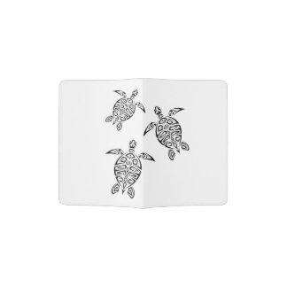 Turtles Animal Tribal Tattoo Passport Holder