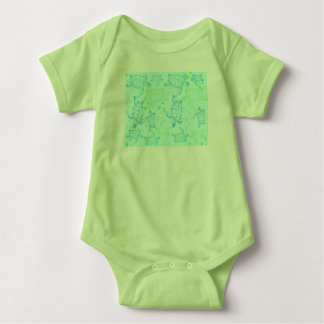 Turtles Baby Jersey Bodysuit