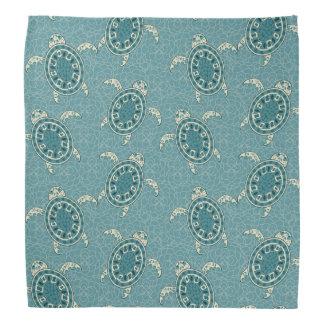 turtles background kerchief