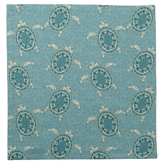 turtles background napkin