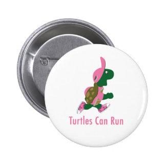 Turtles Can Run 6 Cm Round Badge