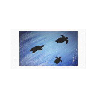 turtles canvas