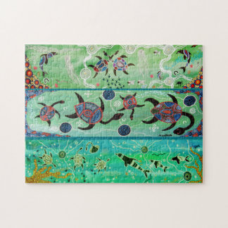 Turtles & Dolphins Puzzle