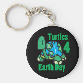 Turtles for Earth Day Keychain