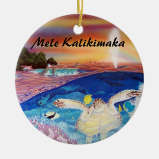 turtles nest ornament