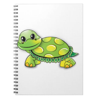 Turtles On A Notebook