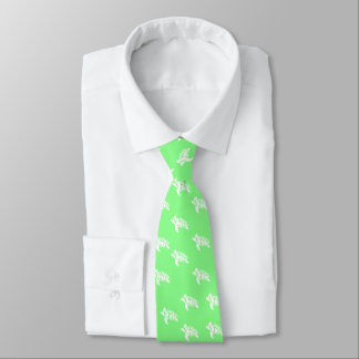 Turtles On Sea Green Tie