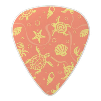 Turtles Pattern Acetal Guitar Pick