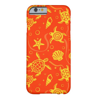 Turtles Pattern Barely There iPhone 6 Case