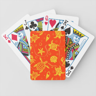 Turtles Pattern Bicycle Playing Cards