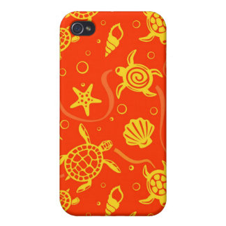 Turtles Pattern Case For The iPhone 4