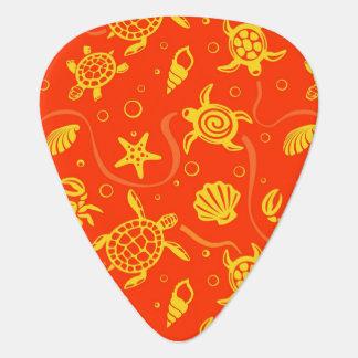 Turtles Pattern Guitar Pick