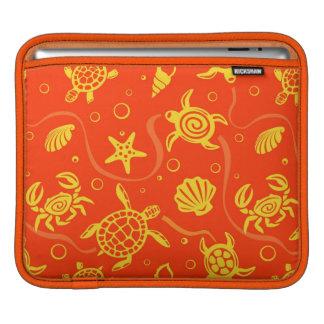 Turtles Pattern iPad Sleeve