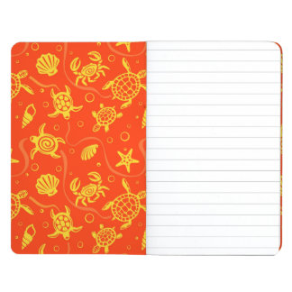 Turtles Pattern Journals