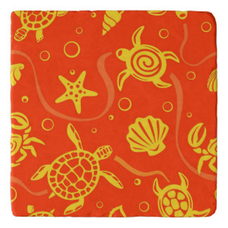Turtles Pattern Trivet