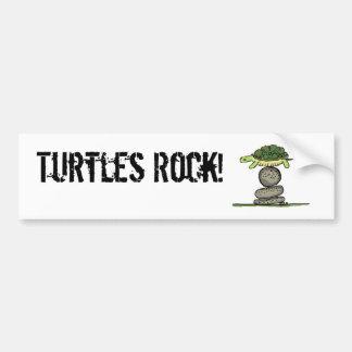 Turtles Rock! Bumper Sticker