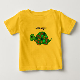 Turtles Rock! Infant Outfit Baby T-Shirt