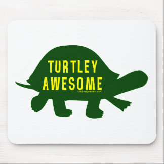 Turtley Totally Awesome Mouse Mat
