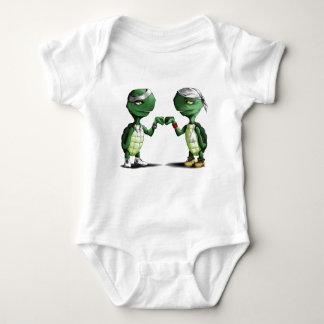 Turttles Baby Bodysuit