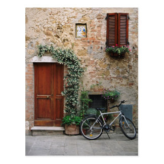 Tuscan Bicycle Postcard