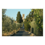 Tuscan Castle Posters
