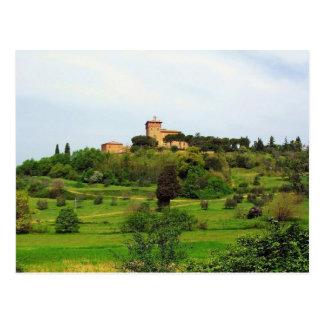 Tuscan Countryside Postcard