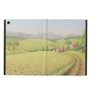 Tuscan Farmhouse, Italy in Pastel iPad Cover