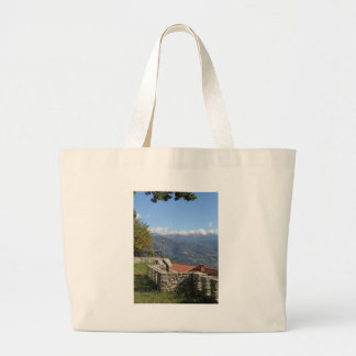 Tuscan landscape near Lucca Tuscany Italy Jumbo Tote Bag