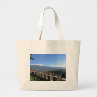 Tuscan landscape near Lucca Tuscany Italy Jumbo Tote Bag