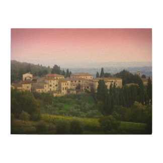Tuscan Sunset Wood Panel