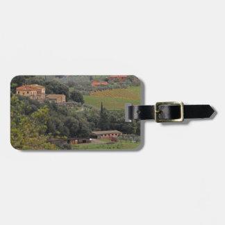Tuscan Villa Luggage Tag